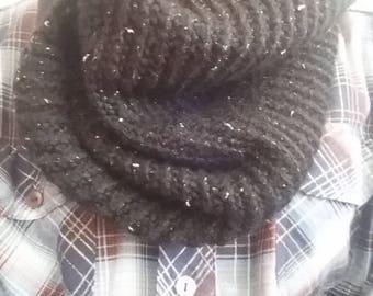 Black Sparkle Cowl