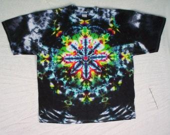 Tie Dye Kaleidoscope Night Size Large