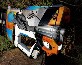 Custom painted borderlands 2 Maliwan technetronic submalevolent grace modded  nerf gun