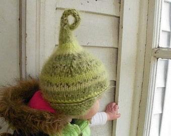 winter baby santa hat or pixie hat sizes newborn to adult photo prop