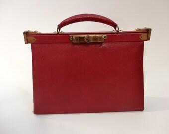 Vintage 1920's Bag - Leather Handbag