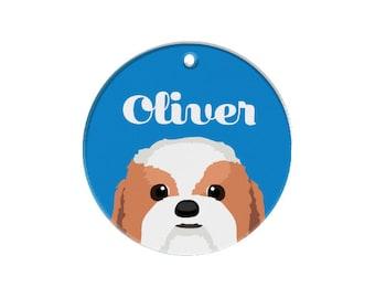 Custom Dog Tags Pet Tags Dog ID Pet ID Tag Shihtzu