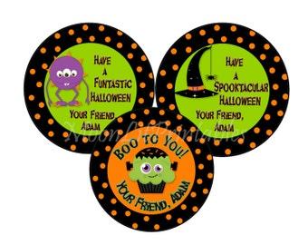 Set Halloween Stickers - Halloween Seasons/Holidays