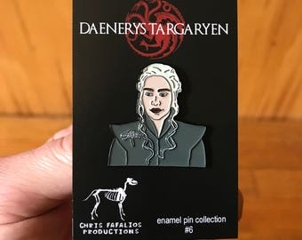 Daenerys Targaryen enamel pin