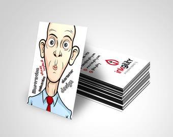 BUSINESS CARD ((SBC-119) Template)