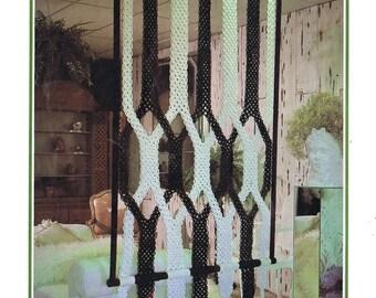 Vintage Macrame Wall Hanging Pattern PDF.Macrame Wall Hanging PDF Pattern Book.digital download.macrame pattern.craft pattern.fiber art