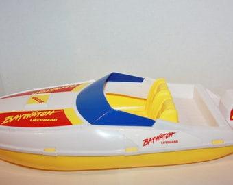Barbie Baywatch Rescue Boat 1995 Mattel