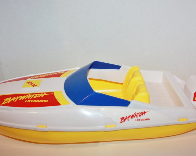Barbie Baywatch Rescue Boat 1995 Mattel