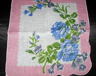 Ladies Handkerchiefs, Vintage Hankies Ladies Hankerchiefs