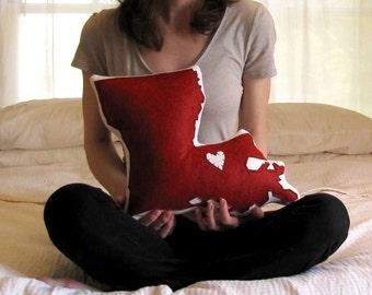 Customizable Louisiana State Pillow