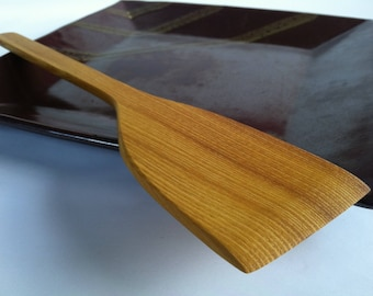 Deluxe Reclaimed Eco Osage Orange Spatula Made in the mountain town of OGDEN