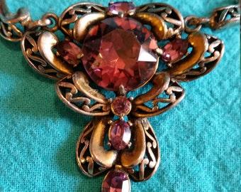 1952 Hollycraft Necklace