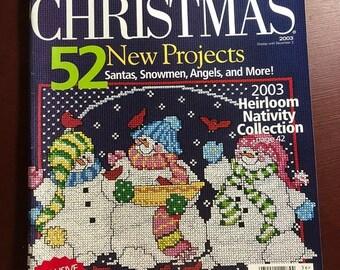 SUMMERSALE Cross Stitch Christmas 2003, magazine, Counted Cross Stitch, Patterns, 52 New Projects