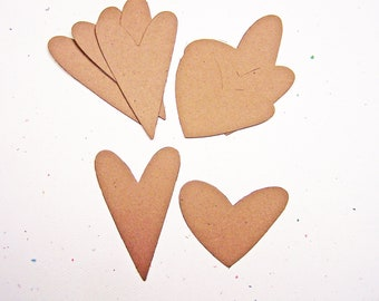 Tim Holtz Hearts Card Stock Set of 4