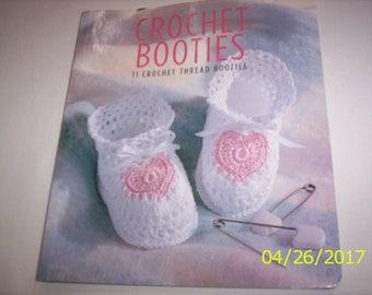 Crochet Booties for crochet thread  11 styles
