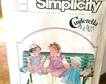 Simplicity Cinderella Pattern 7633 - Size 3