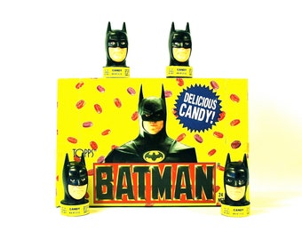 Batman Candy Containers by Topps Lot of 3