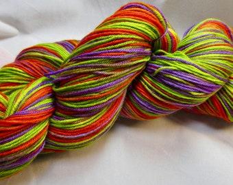 Secondary Shades HandPainted Sock Yarn