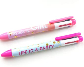 4 colors - set of 2 pens