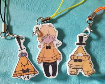 Bill Cipher Charms
