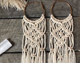 Macrame Earrings / Macrame Jewerlry