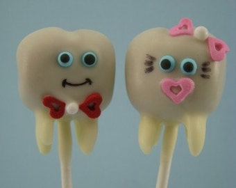Tooth Cake Pops