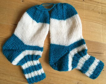 Knitted socks, knitted, size 26
