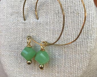 Sea Foam Green Earrings