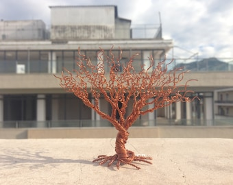 wire tree sculpture von WireMyTree auf Etsy