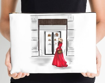The Red Dress Cosmetic Case
