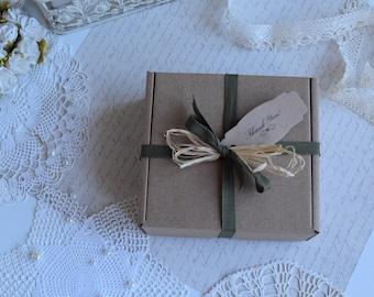 "5 pcs,Cardboard Boxes 4.72""x4.72""x1.97"",Medium Boxes,Favor Gift Packaging, Wedding Favor Box,Bridesmaid gift boxes."