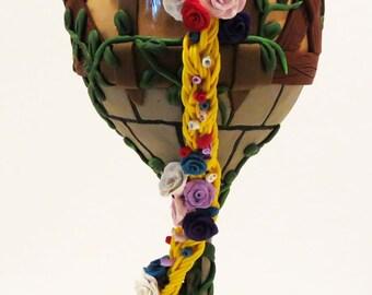 Tangeld Rapunzel's Tower Wine Glass