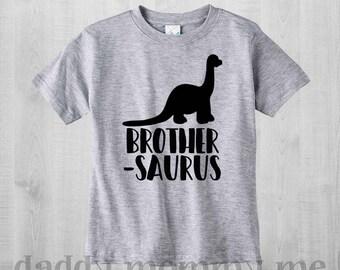 Dinosaur Big Brother Shirt Big Brother Shirt Brothersaurus Shirt Big Brother TShirt Baby Announcement Big Brother Outfit Dinosaur Shirt Bro