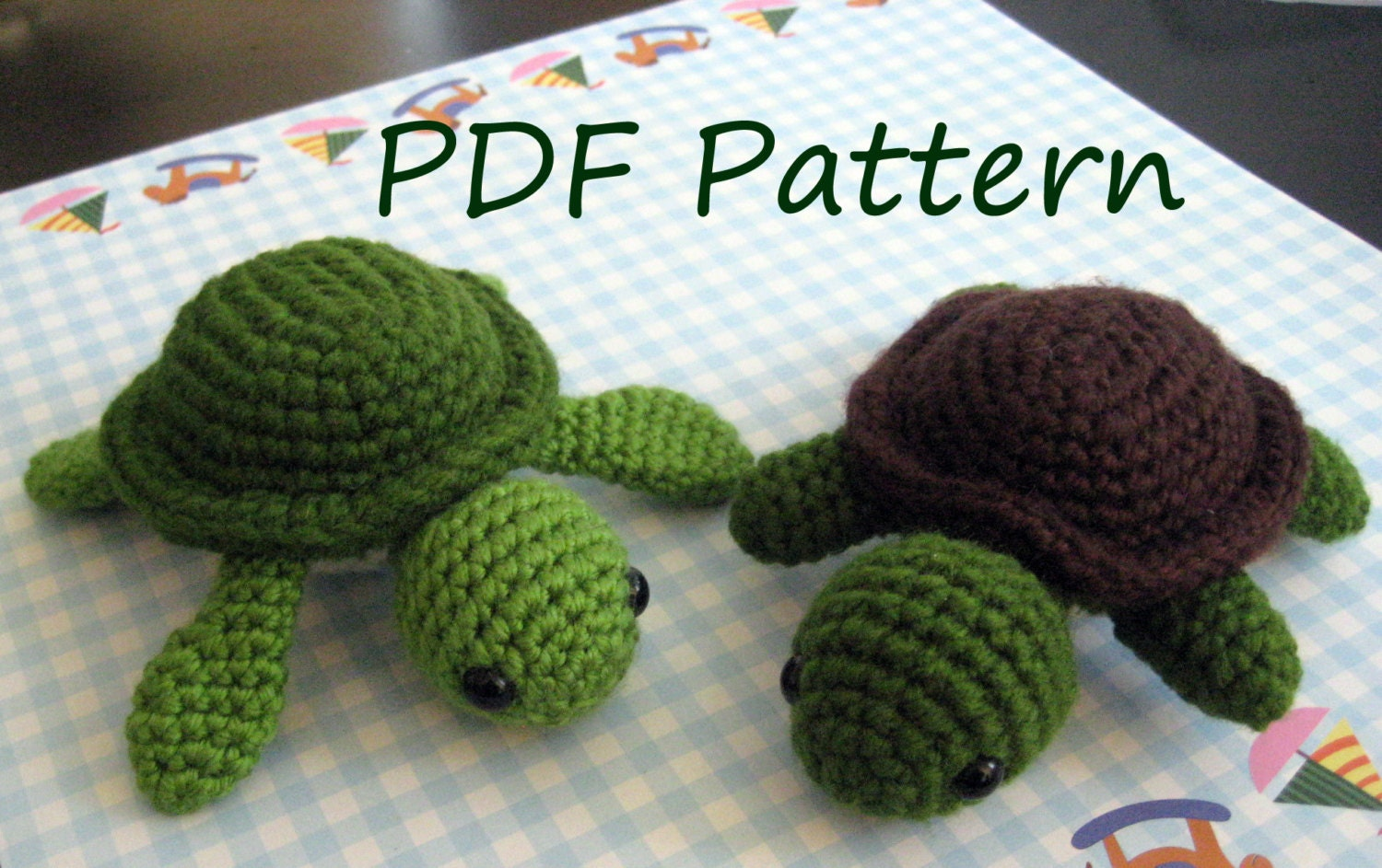 Amigurumi Crochet Pattern : The turtle amigurumi crochet pattern pdf