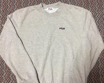 vintage Fila sweatshirt hip hop swag raptees..nice condition..size large