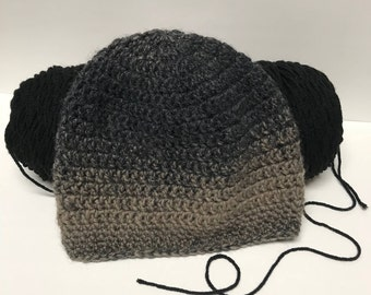 Classic Beanie - Charcoal Ombre