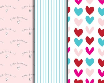 Little Sweetheart Pattern Sheets