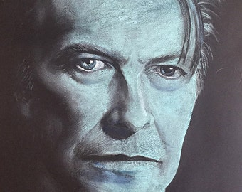 David Bowie Blue