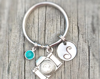 Photographer Gift - Photography - Photographer - Camera - Photography Gift - Camera Jewelry - Personalized Gift - Camera Pendant -