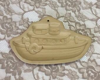 1987 Brown Bag Cookie mold tug boat