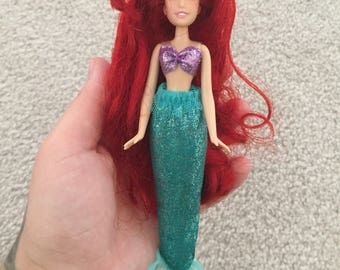Disney the little mermaid mini ariel doll
