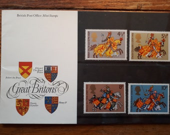 Great Britons Stamps