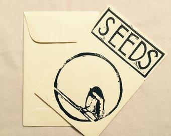 Chickadee Large Seed Packet Set