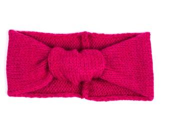 retro headband in stockinette stitch