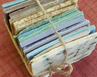 Soap SALE, sale Soap Pieces, Soap Pieces, Soap Sample, End Pieces soap, soap bundle, discounted soap, log ends, cheap soap pieces, soap
