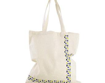 Geometric Printed multipurpose bag