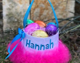 Easter Basket for Girls - Easter Basket - Personalized Easter Basket  - Easter Basket for Girls