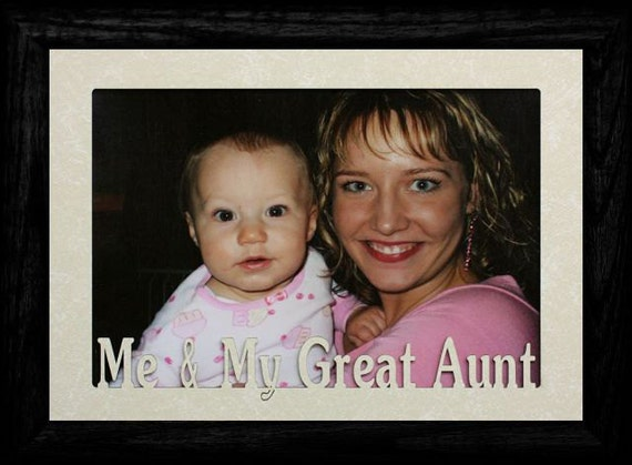 5x7 JUMBO Me & My Great AUNT/Uncle/NIECE/Nephew Frame