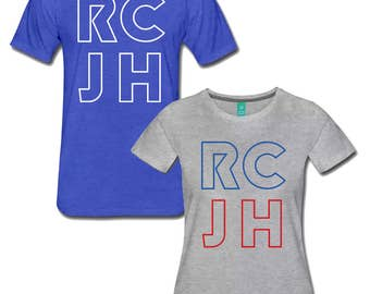 RCJH Rock Chalk KU Shirts - University of Kansas Jayhawks Tee