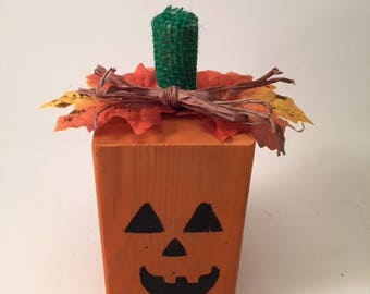 Fall Jack-O-Lantern Decoration!